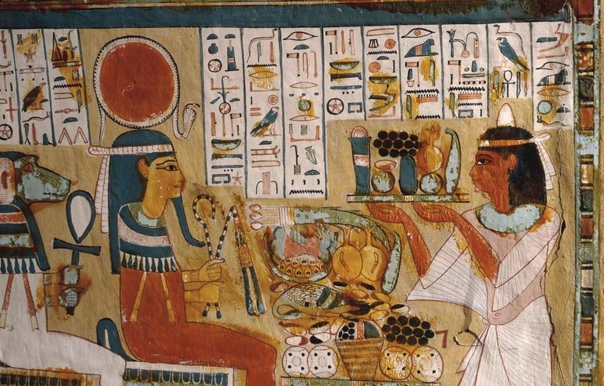 Chữ tượng hình Ai Cập cổ đại. (Nguồn: Google Arts and Culture)