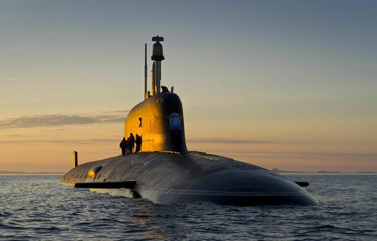 Tàu ngầm hạt nhân Đề án 885M Yasen-M của Hải quân Nga. (Nguồn: Sputnik)