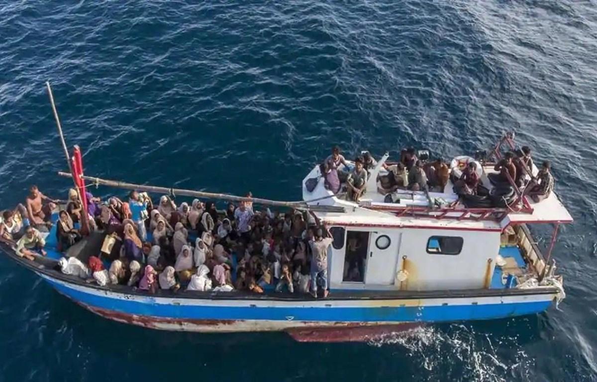 Người tị nạn Rohingya tìm cách di cư tới Malaysia. (Nguồn: AP)