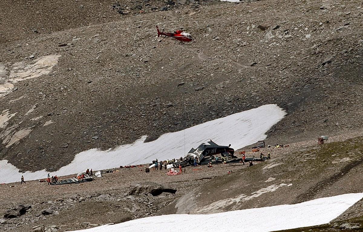 Một vụ tai nạn máy bay ở vùng núi Alps. (Nguồn: Reuters)