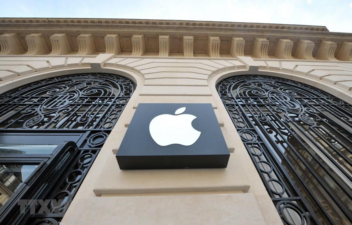 Một cửa hàng của Apple tại Paris, Pháp. (Ảnh: AFP/ TTXVN)