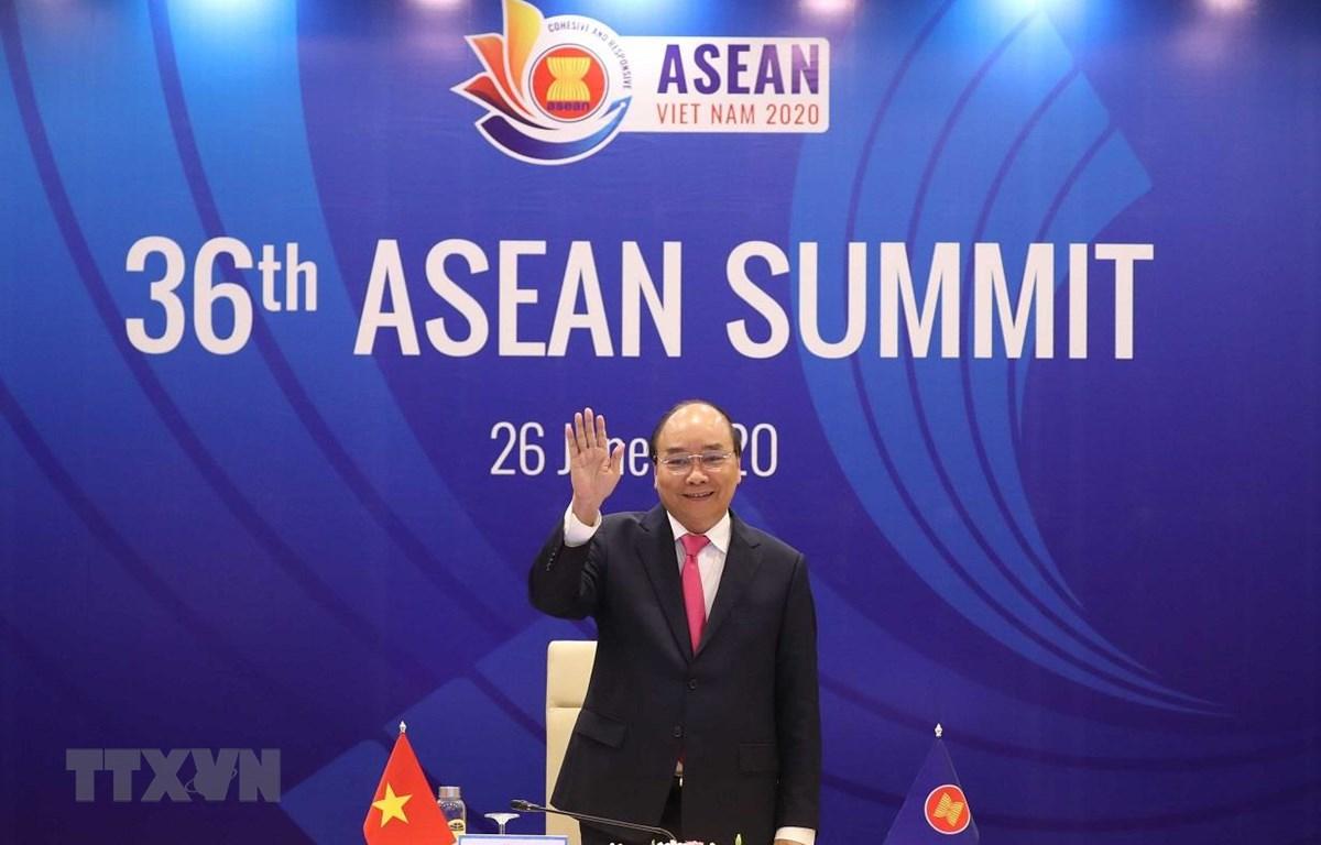 Việt Nam đã tổ chức thành công hội nghị cấp cao ASEAN lần thứ 36 theo hình thức trực tuyến trong bối cảnh dịch COVID-19 vẫn diễn biến phức tạp. (Ảnh: Thống Nhất/TTXVN)