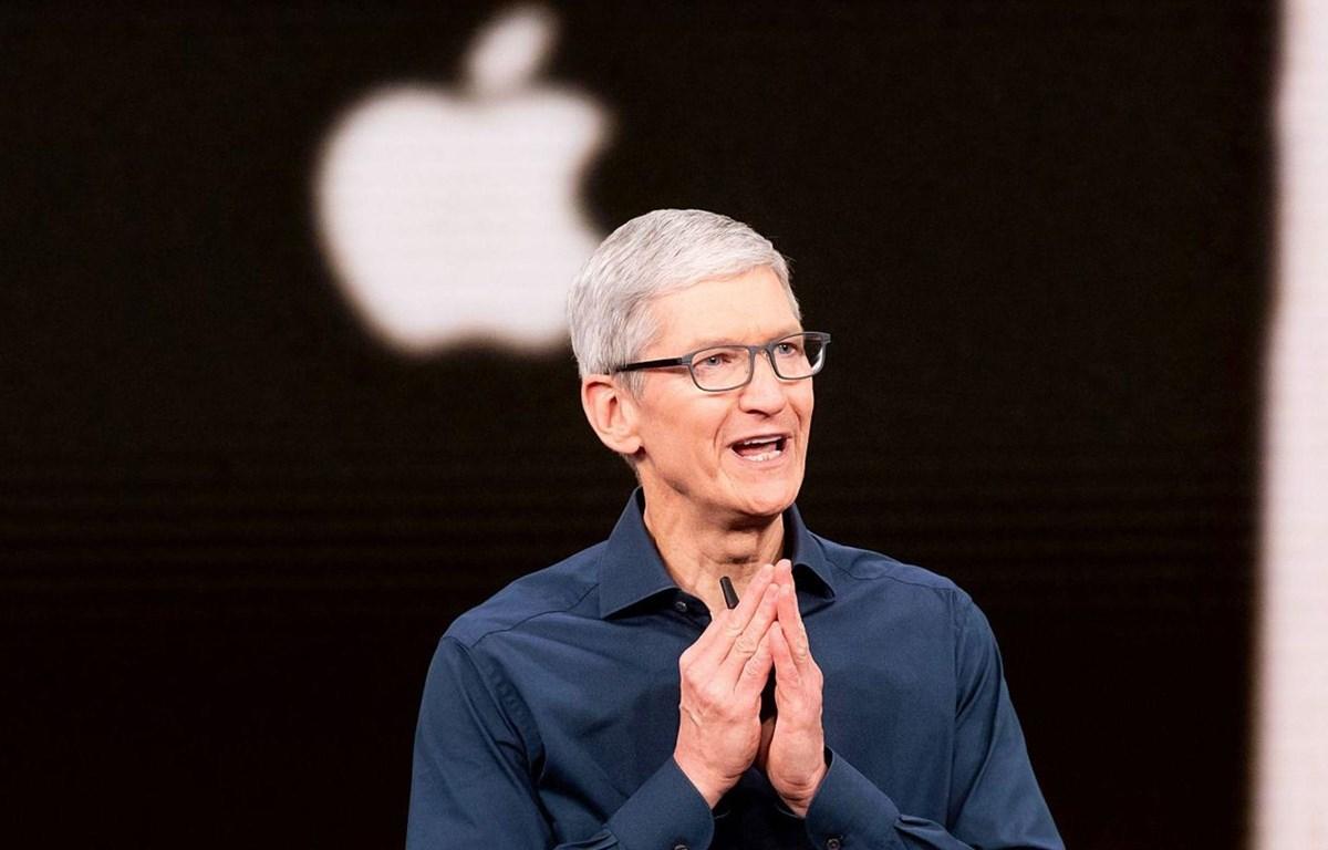 Giám đốc điều hành Apple Tim Cook đã lần đầu lọt vào danh sách tỷ phú. (Nguồn: Sky News)