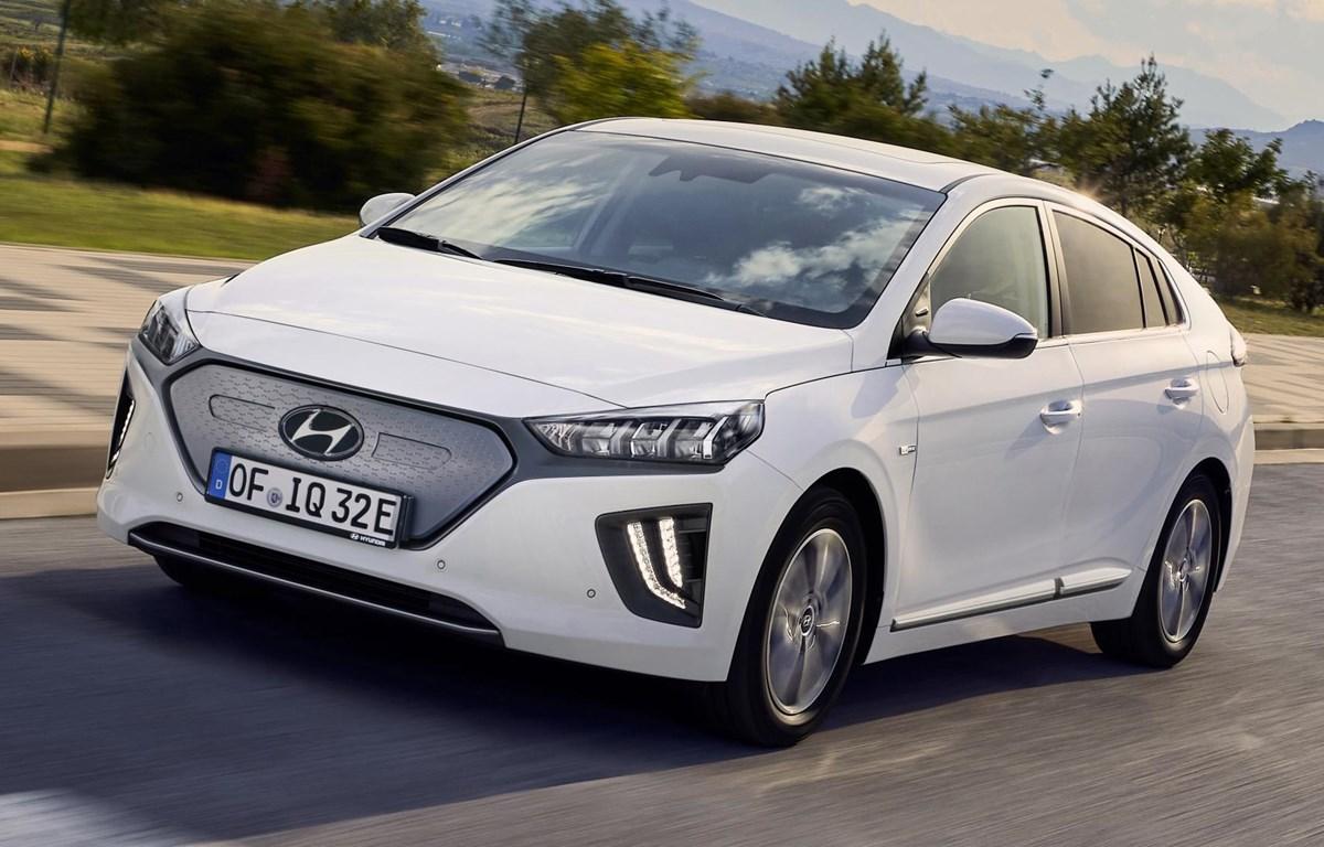 Mẫu xe điện Ioniq của Hyundai. (Nguồn: topgear.com)
