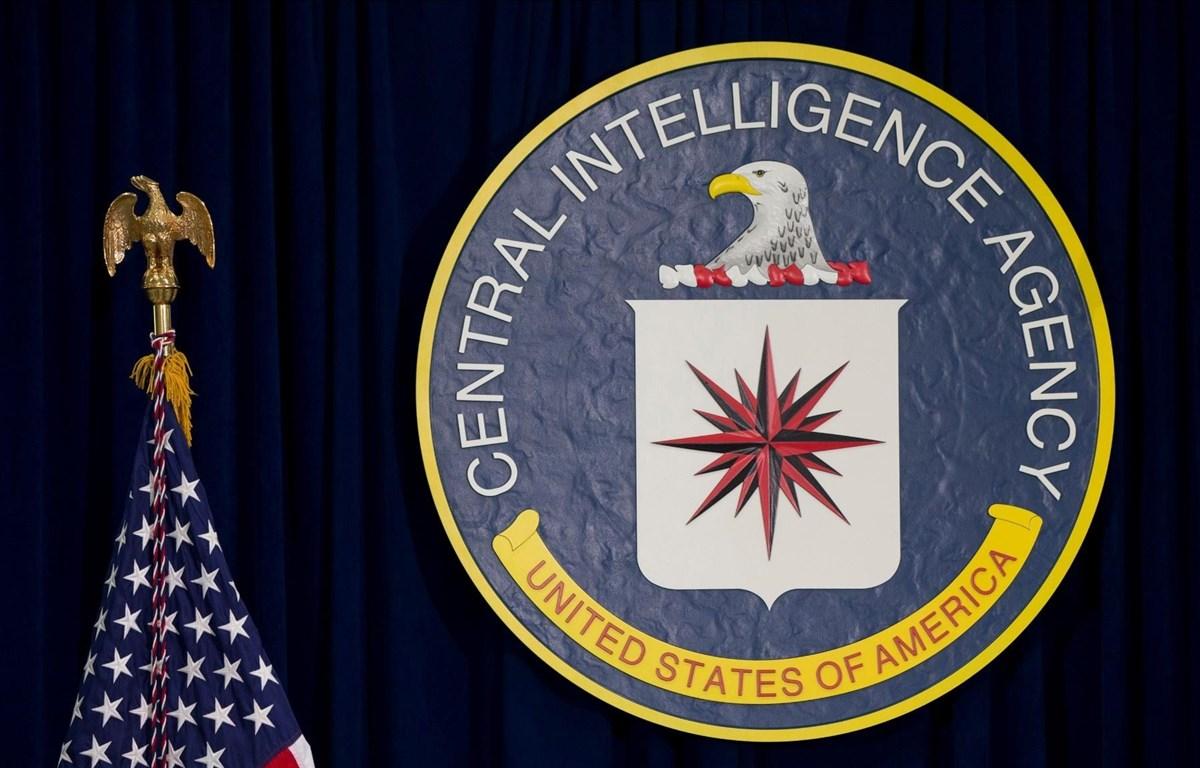 Biểu tượng của Cơ quan tình báo trung ương Mỹ tại tổng hành dinh ở Langley, Virginia. (Nguồn: AP)