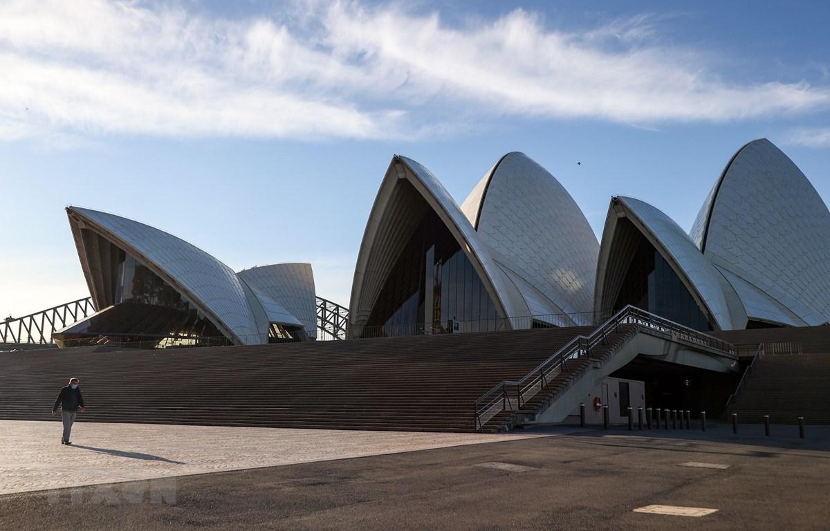 Cảnh vắng vẻ tại Sydney, Australia ngày 6/8/2020, trong bối cảnh dịch COVID-19 lan rộng. (Ảnh: THX/TTXVN)