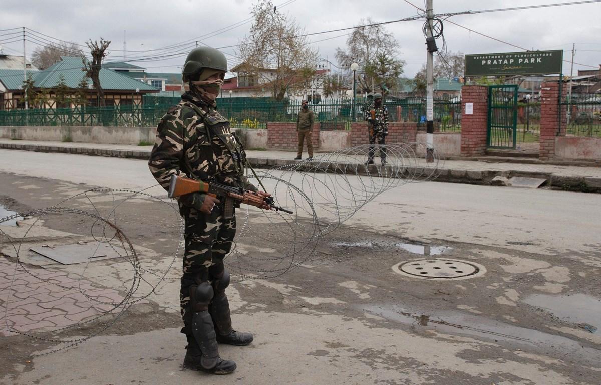 Cảnh sát chống khủng bố Ấn Độ. (Nguồn: AP)