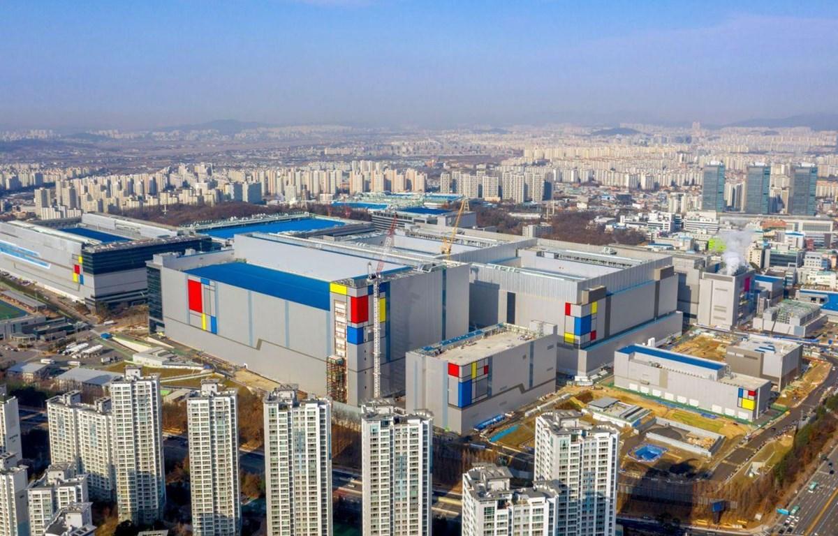 Nhà máy sản xuất chip của Samsung tại Hwaseong, Hàn Quốc. (Nguồn: Reuters)