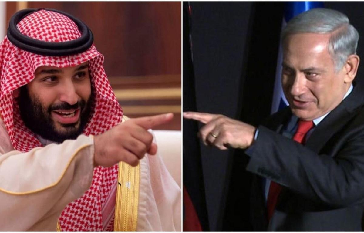 Thái tử Saudi Arabia Mohammad Bin Salman đã hủy một cuộc gặp bí mật với Thủ tướng Israel Benjamin Netanyahu tại Washington (Mỹ). (Nguồn: AFP)