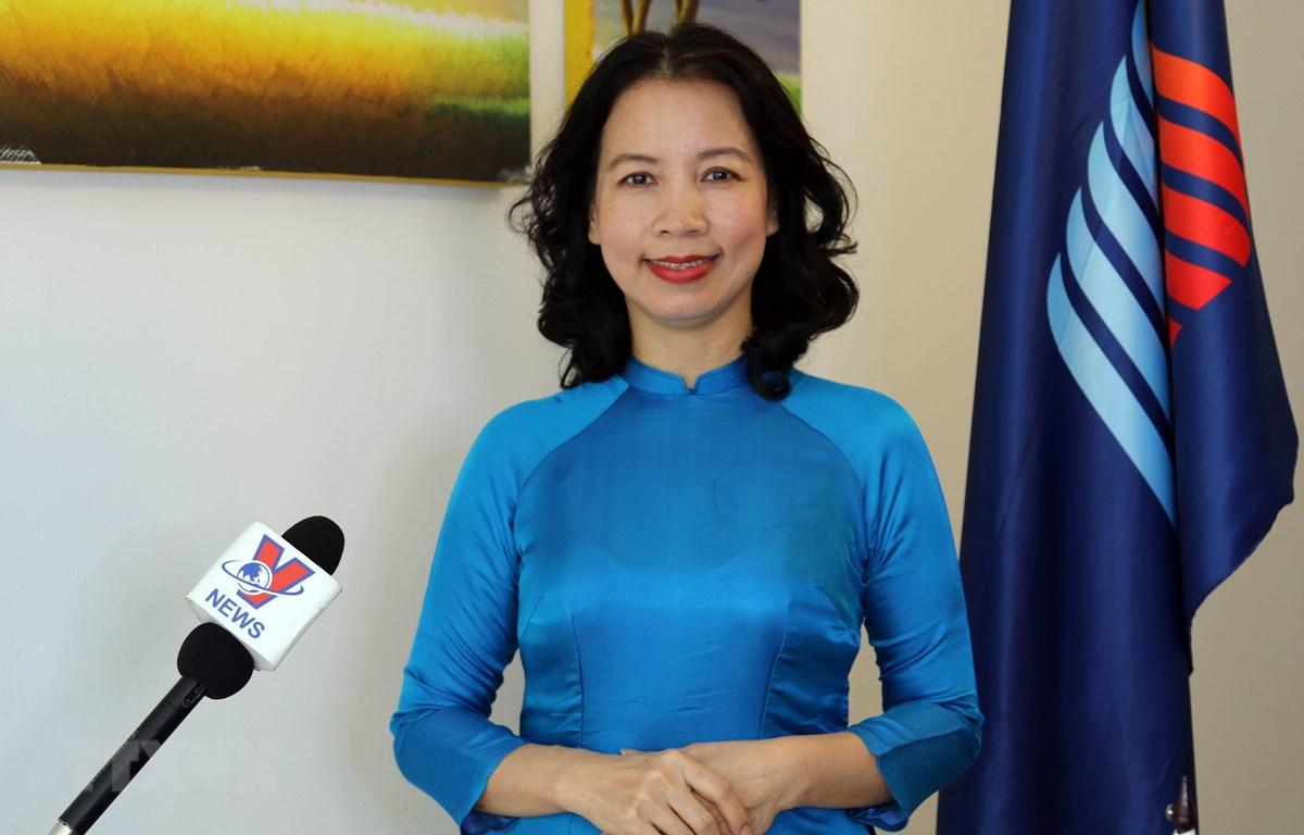 Tổng thư ký Hội đồng Liên nghị viện ASEAN (AIPA) Nguyễn Tường Vân. (Ảnh: Hữu Chiến/TTXVN)