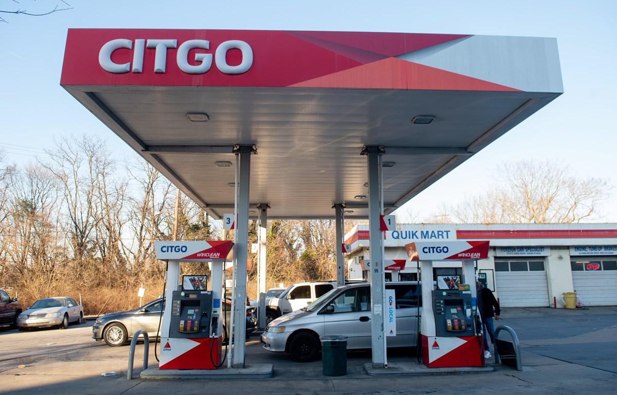 Một trạm xăng của Citgo, công ty con thuộc Tập đoàn dầu khí nhà nước Venezuela PDVSA. (Ảnh: AFP/TTXVN)