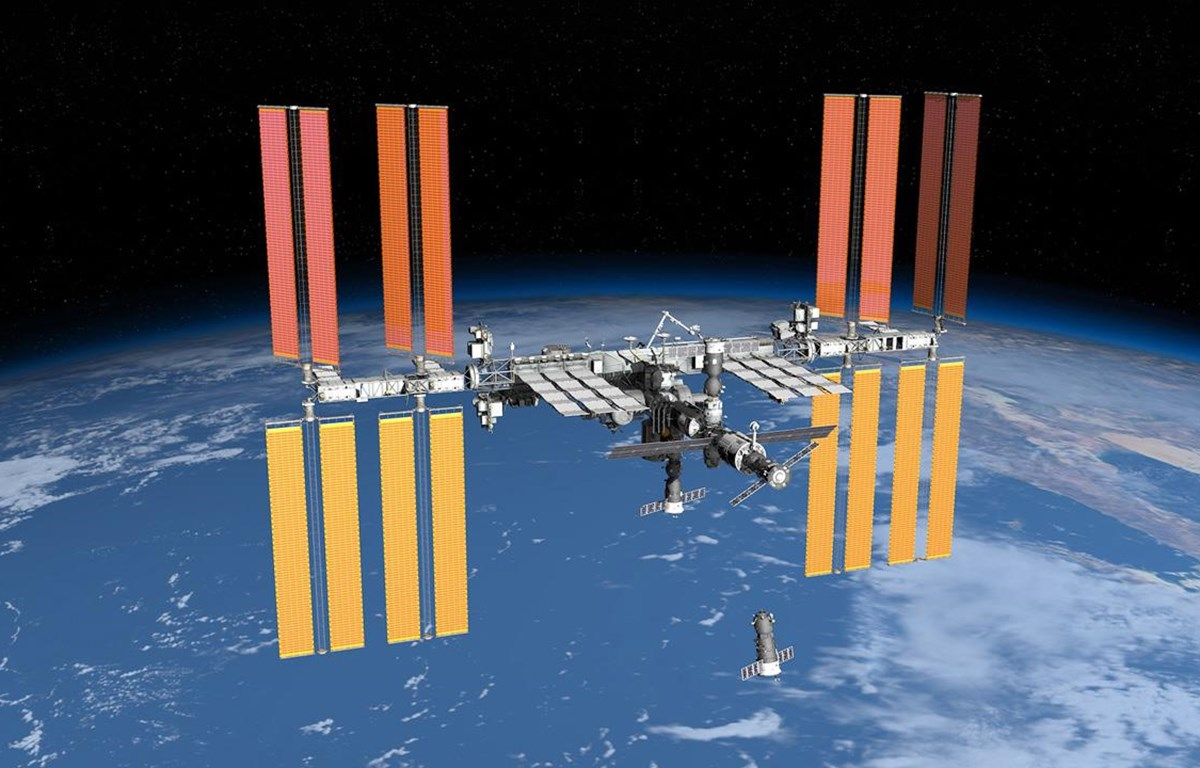 Trạm vũ trụ quốc tế ISS. (Nguồn: spacecraftearth.com)