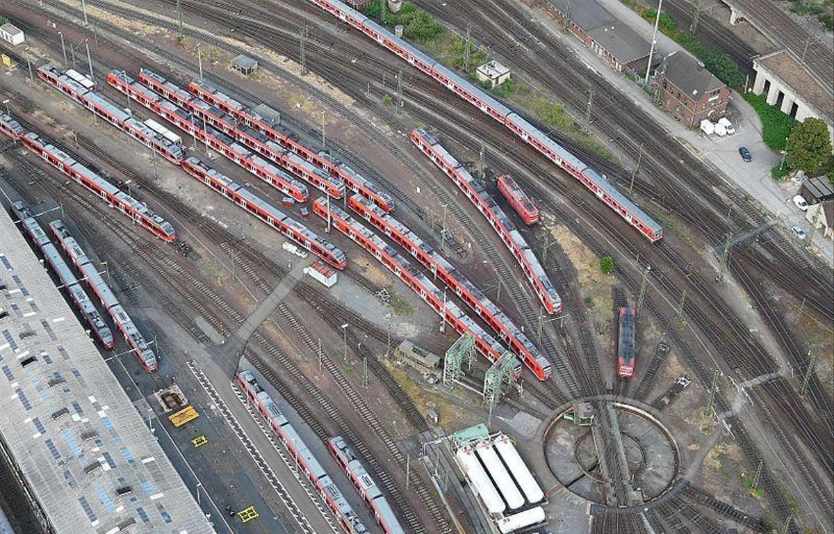 Nhà ga Cologne, nơi phát hiện một thiết bị nổ tự chế được đặt trên tàu hỏa. (Nguồn: en24.news)