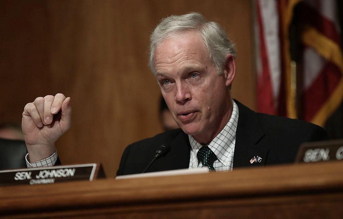Thượng nghị sỹ đảng Cộng hòa Ron Johnson. (Nguồn: Getty Images)