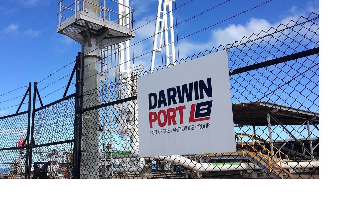 Cảng Darwin của Australia được tập đoàn Landbridge của Trung Quốc thuê lại trong thời hạn 99 năm. (Nguồn: Reuters)
