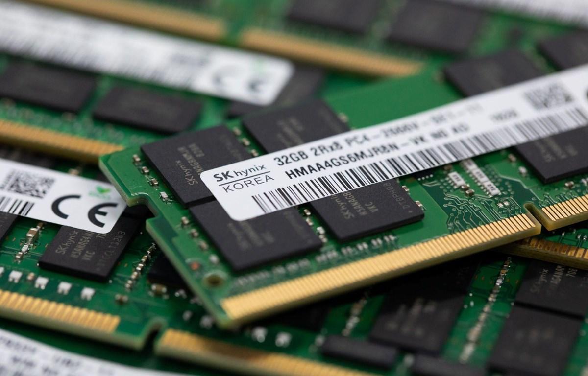 SK Hynix là công ty sản xuất chip lớn thứ hai thế giới. (Nguồn: Bloomberg)