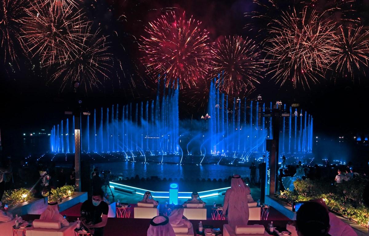 Đài phun nước Palm Fountain tại Dubai. (Nguồn: wam.ae)
