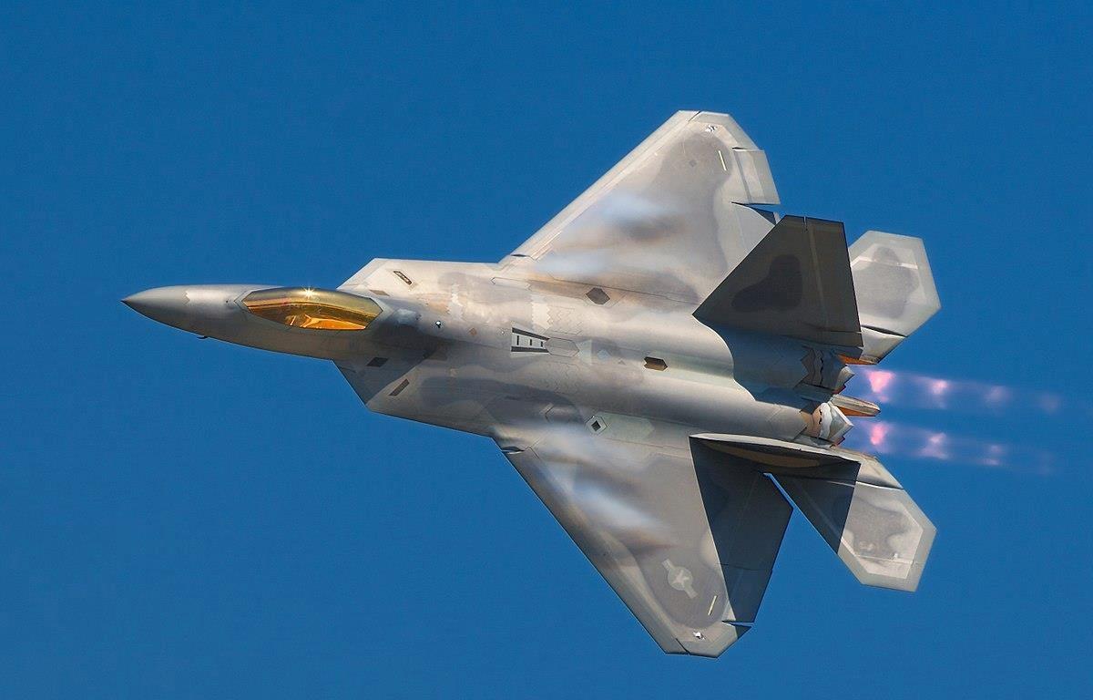 Mỹ chấp thuận bán máy bay chiến đấu tàng hình tối tân F-22 Raptor cho Israel. (Nguồn: military.com)