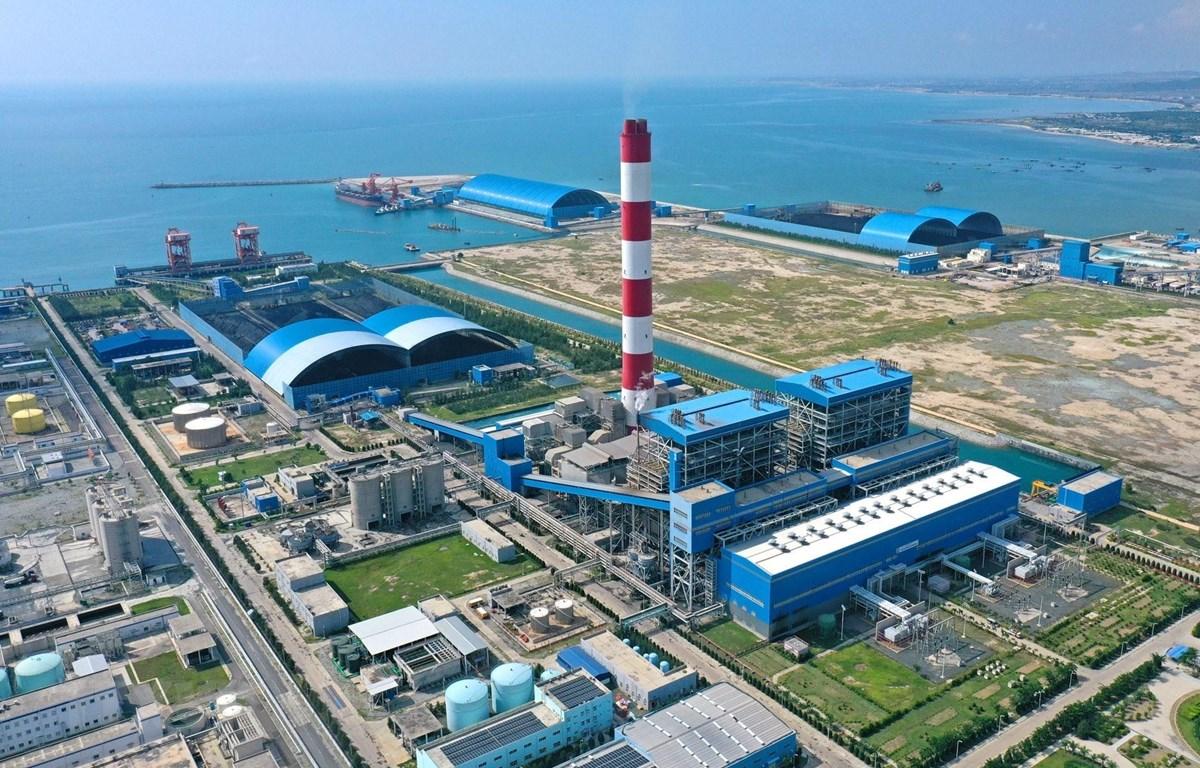 Toàn cảnh Nhà máy Nhiệt điện Vĩnh Tân 2. (Ảnh: Ngọc Hà/TTXVN)