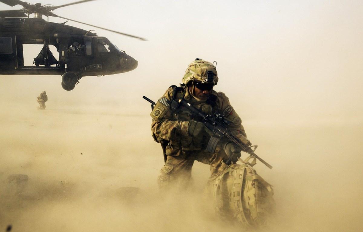 BInh sỹ Mỹ được triển khai tại Afghanistan. (Nguồn: Reuters)