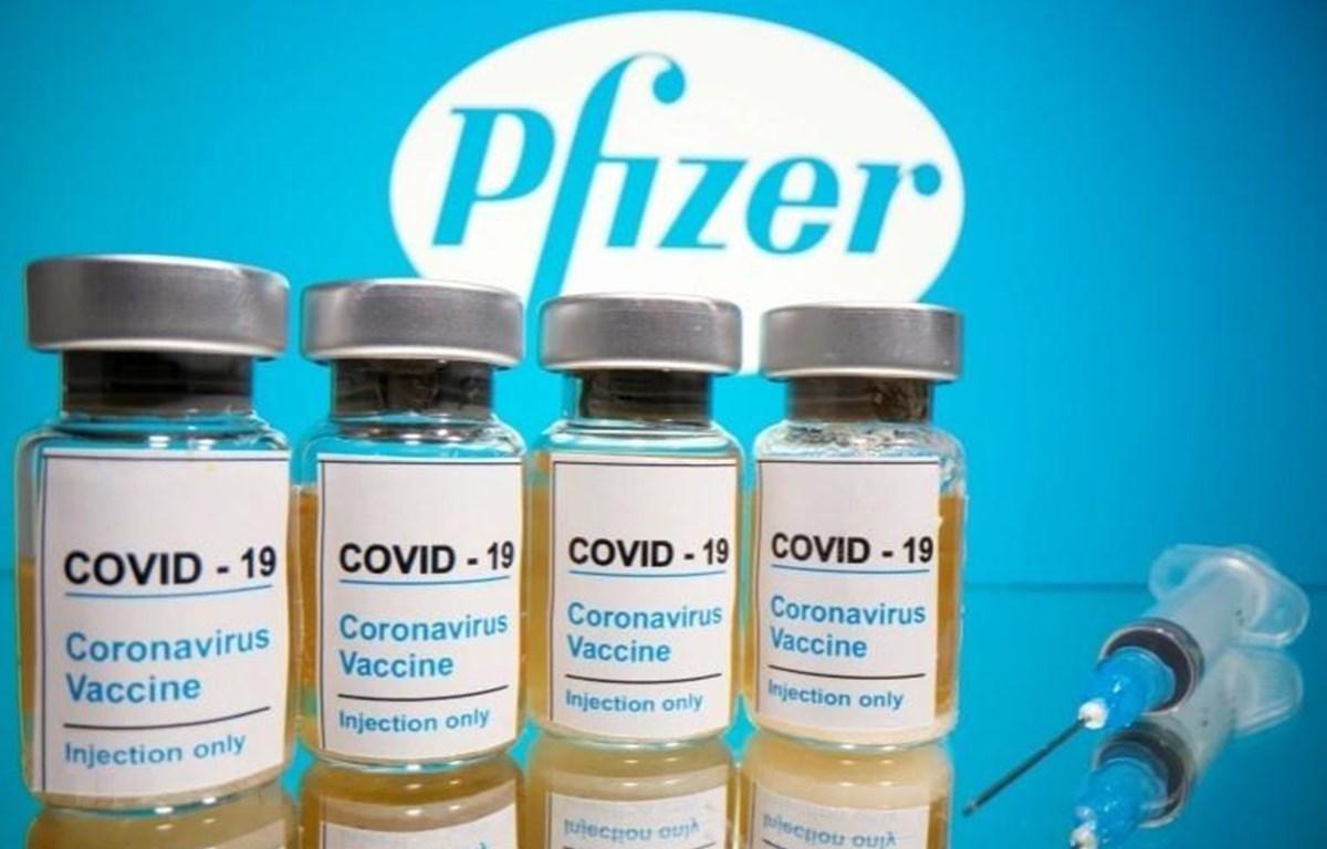 Vắcxin ngừa COVID-19 do hãng Pfizer (Mỹ) phát triển. (Ảnh: Reuter/TTXVN)