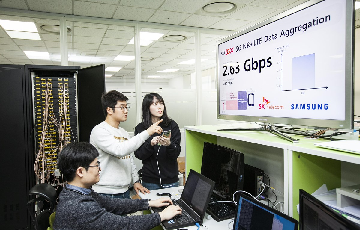 SK Telecom và Samsung hợp tác phát triển công nghệ 5G. (Nguồn: netmanias.com)
