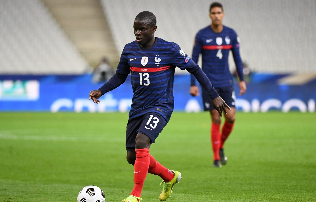 N'Golo Kante được đánh giá là tiền vệ hay nhất thế giới hiện nay. (Ảnh: Getty Images)