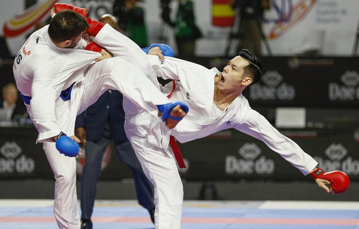 Karate được kỳ vọng sẽ mang lại thành tích cao cho đoàn thể thao chủ nhà Nhật Bản. (Ảnh: Getty Images)
