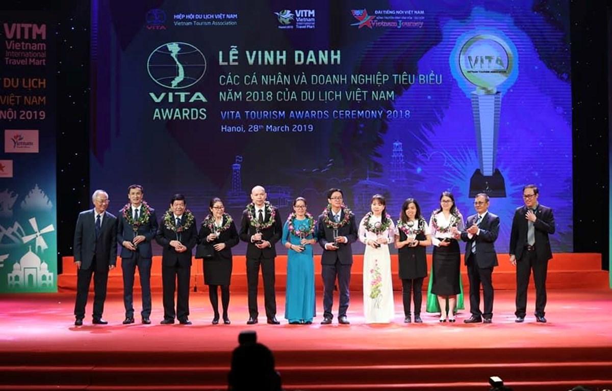 Ngày hội của các cá nhân và doanh nghiệp ngành du lịch. (Ảnh: PV/Vietnam+)