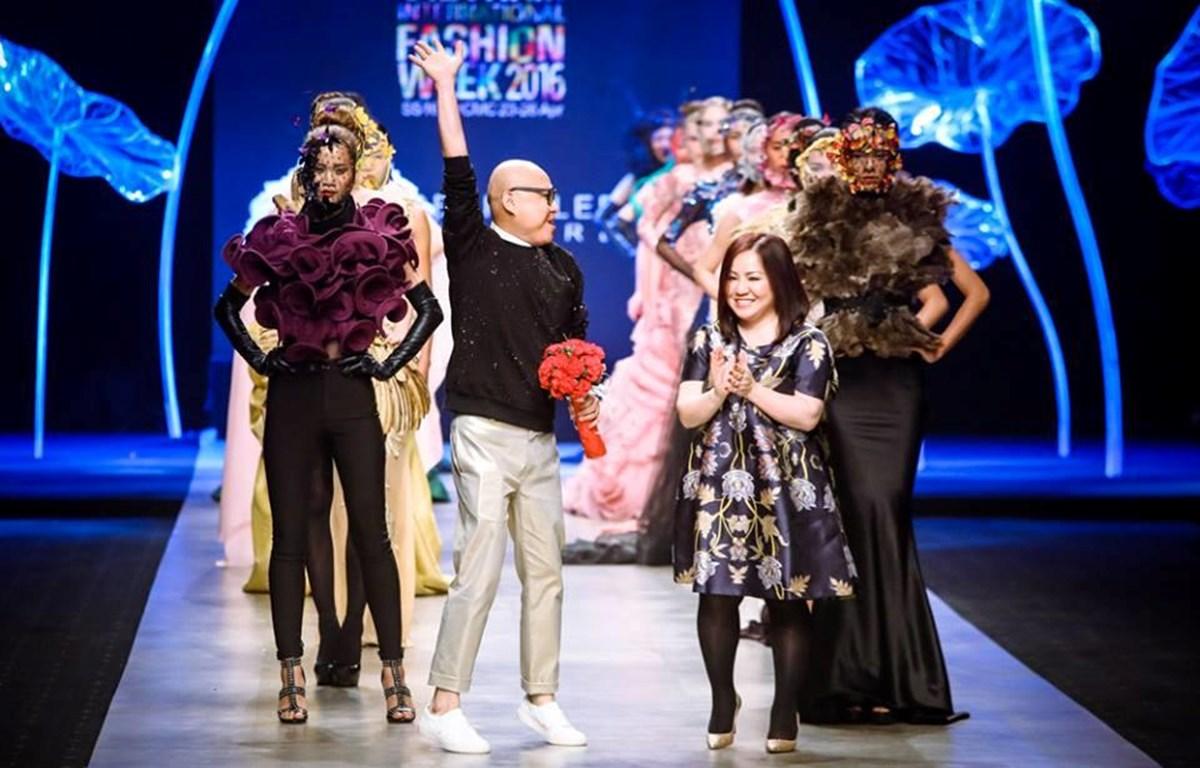 Frederick Lee lần đầu đưa bộ sưu tập đến Tuần lễ thời trang quốc tế Việt Nam vào năm 2016. (Ảnh: BTC)