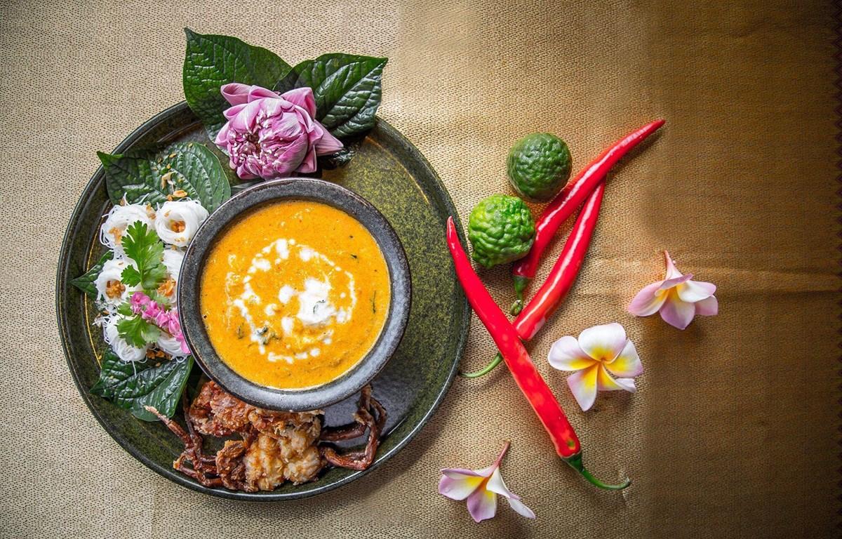 Ẩm thực Thái là sự hòa trộn tinh tế của thảo dược, gia vị và thực phẩm tươi sống. (Ảnh: Sheraton Hanoi)