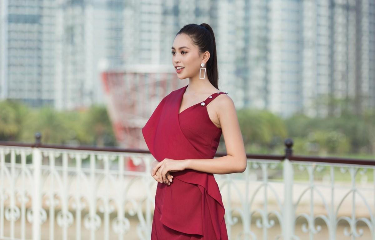 Hoa hậu Tiểu Vy - Đại sứ của cuộc thi. (Ảnh: CTV)
