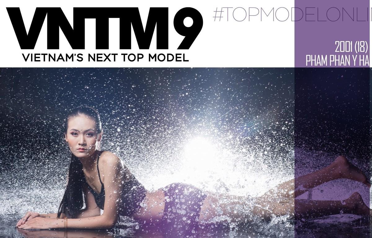 """Phạm Phan Y Hạ, cô gái 18 tuổi đến từ Quảng Ngãi gây chú ý ở vòng 1 Top Model Online nhờ sở hữu chiều cao """"khủng"""" 1,81 mét."""