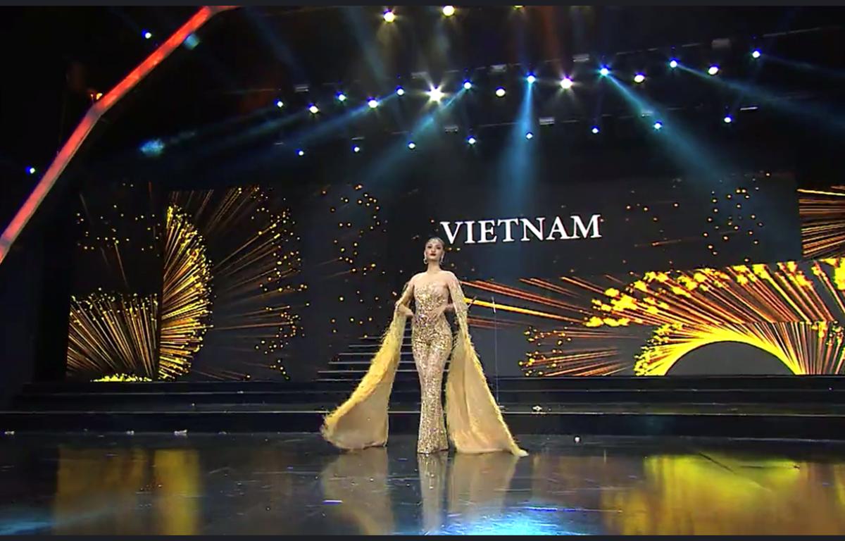 Đại diện Việt Nam trong đêm thi bán kết. (Ảnh: BTC)
