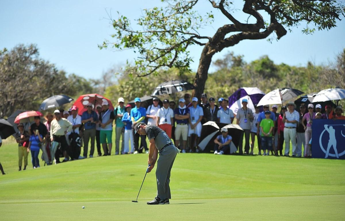 Khách chơi golf là dòng khách có mức chi tiêu cao của Việt Nam. (Ảnh: CTV/Vietnam+)