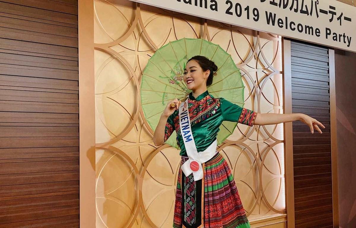 Miss International 2019: Tường San thể hiện tài năng vũ đạo
