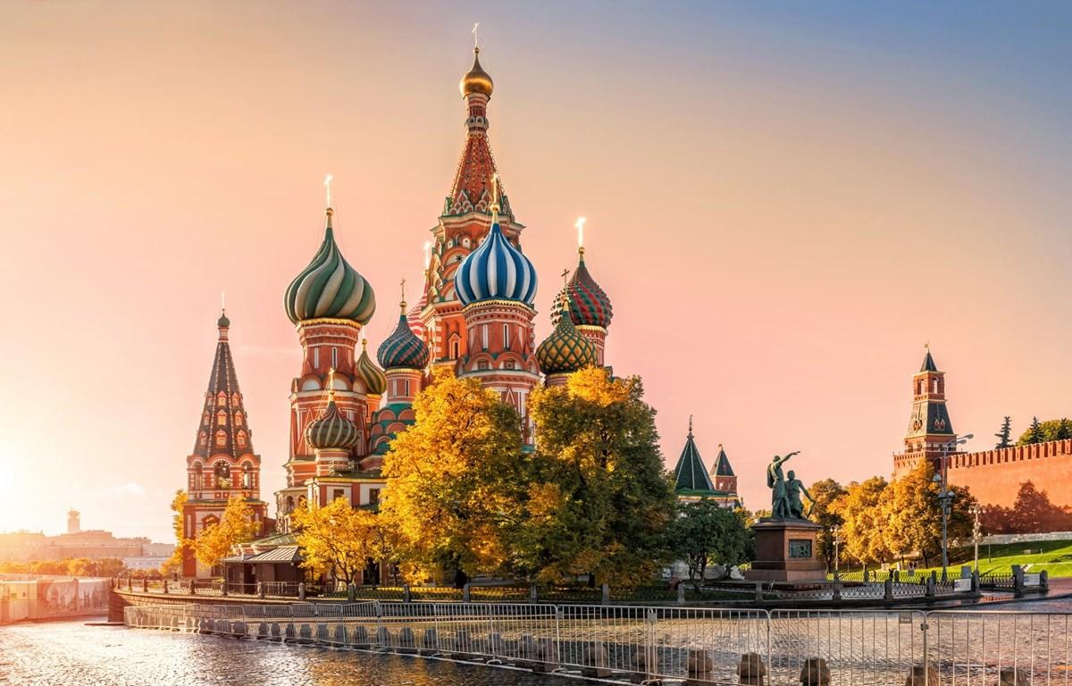 Vẻ đẹp nước Nga. (Ảnh: CTV/Vietnam+)