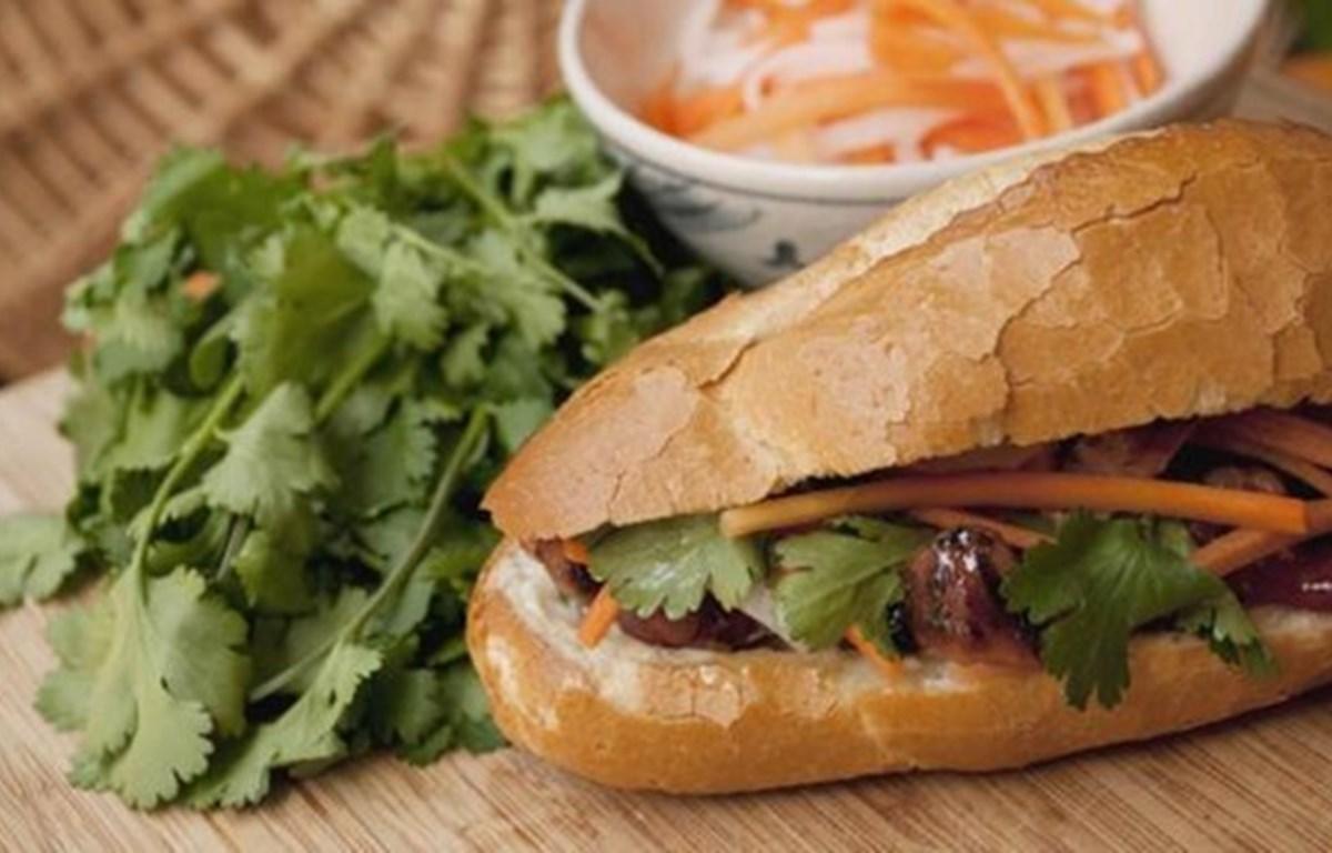 Bánh mì Việt Nam - món ăn vặt hảo hạng nhất thế giới. (Nguồn: BBC)