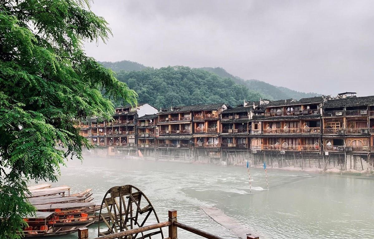 Phượng Hoàng cổ trấn, Trung Quốc. (Ảnh: PV/Vietnam+)