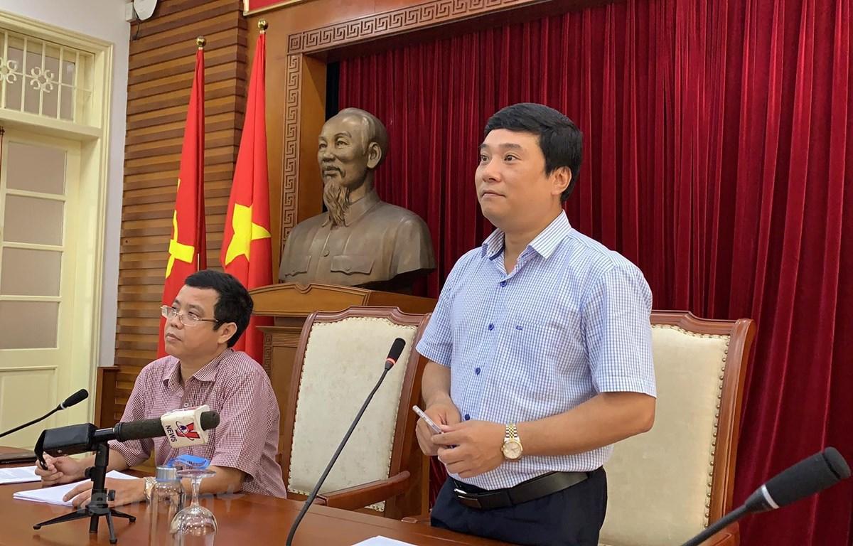 Ông Nguyễn Thái Bình, Chánh Văn phòng Bộ Văn hóa, Thể thao và Du lịch. (Ảnh: Xuân Mai/Vietnam+)