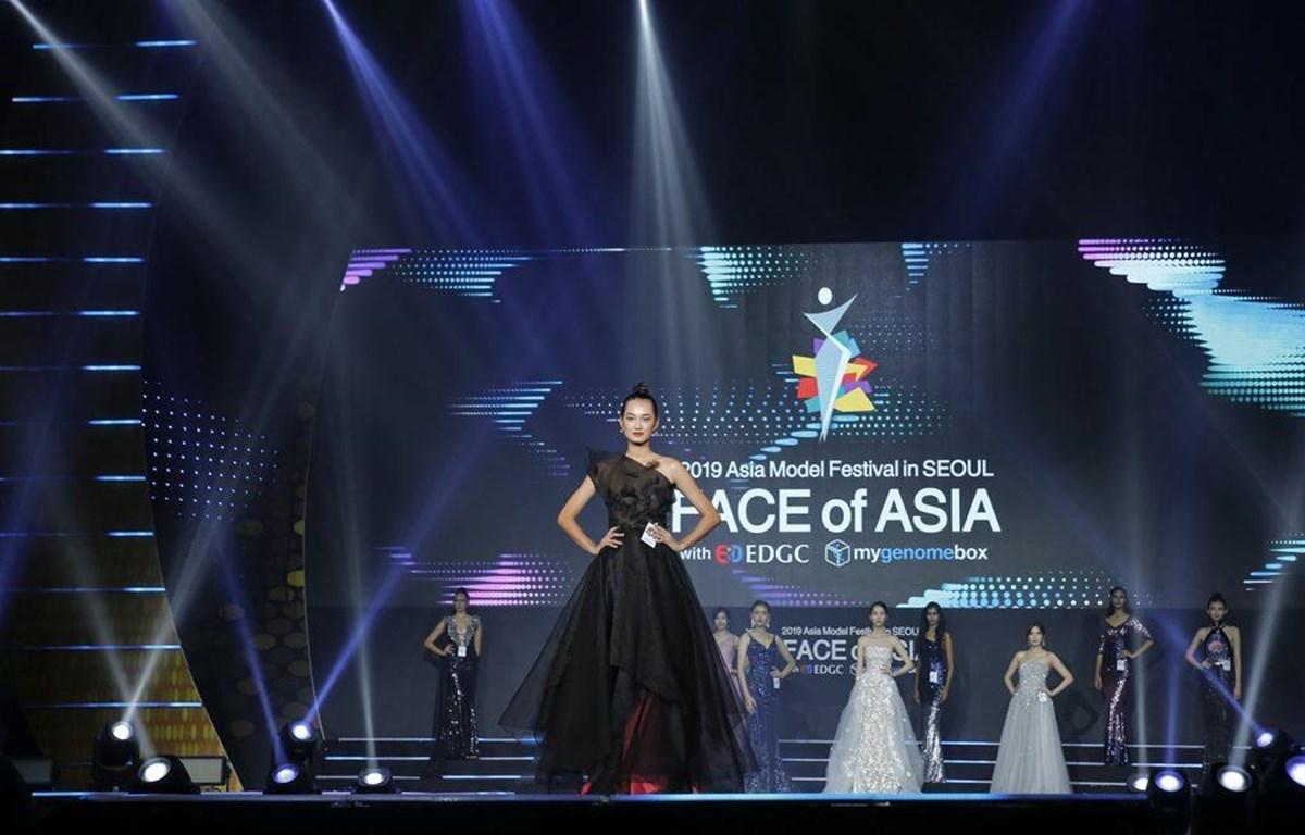 Á quân The Face Vietnam 2018 Quỳnh Anh lọt top 10 Face ASIA. (Ảnh: BTC)