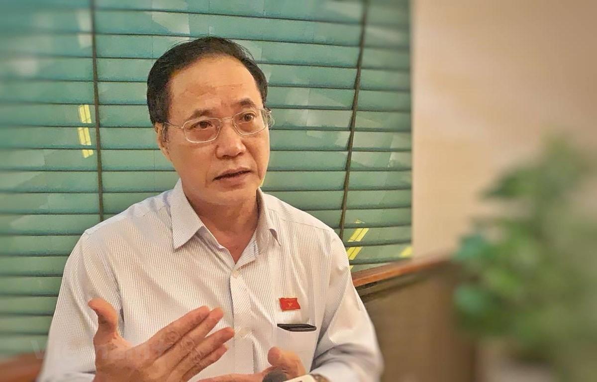 Đại biểu Nguyễn Mai Bộ, Ủy viên Thường trực Ủy ban Quốc phòng và An ninh của Quốc hội. (Ảnh: Xuân Mai/Vietnam+)