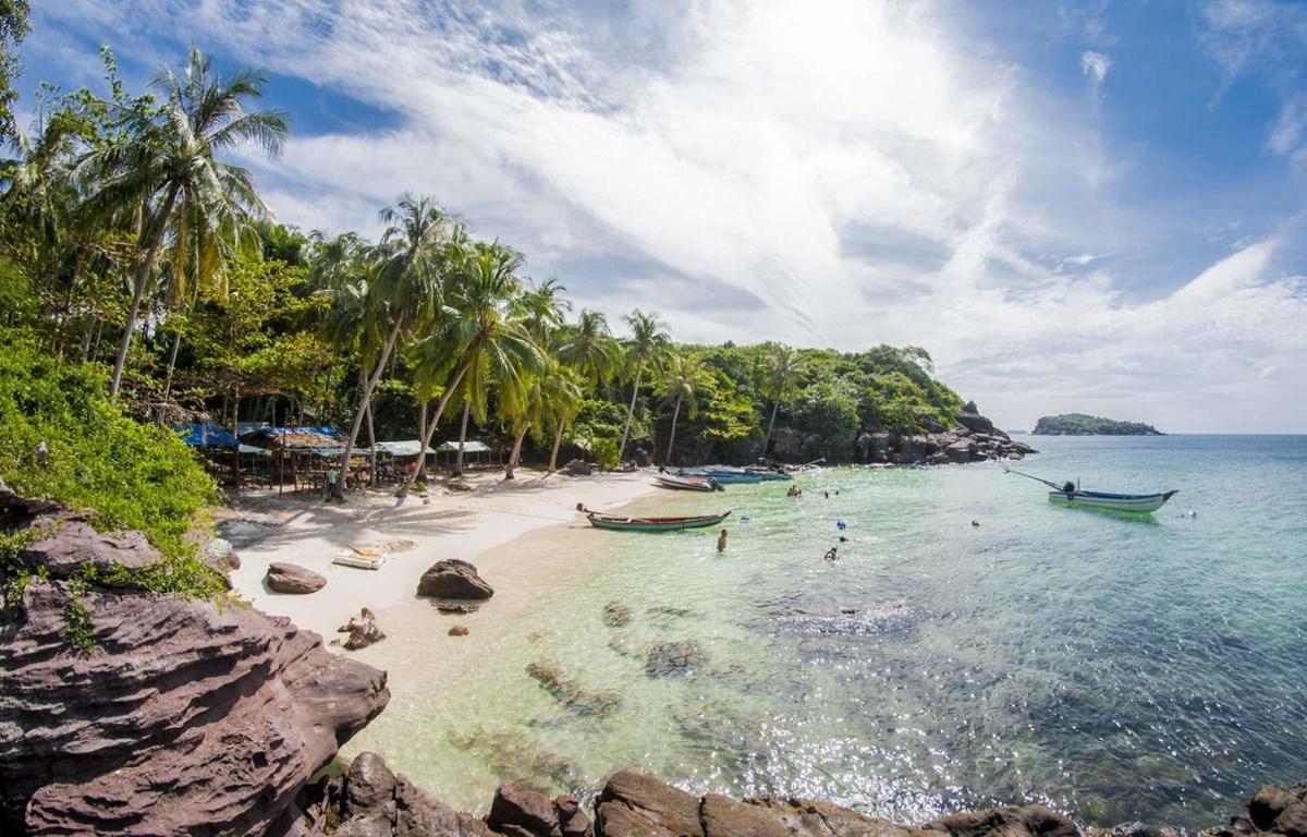 Côn Đảo, điểm đến đang được du khách nội địa ưa chuộng cho kỳ nghỉ vàng cuối năm. (Ảnh: CTV/Vietnam+)