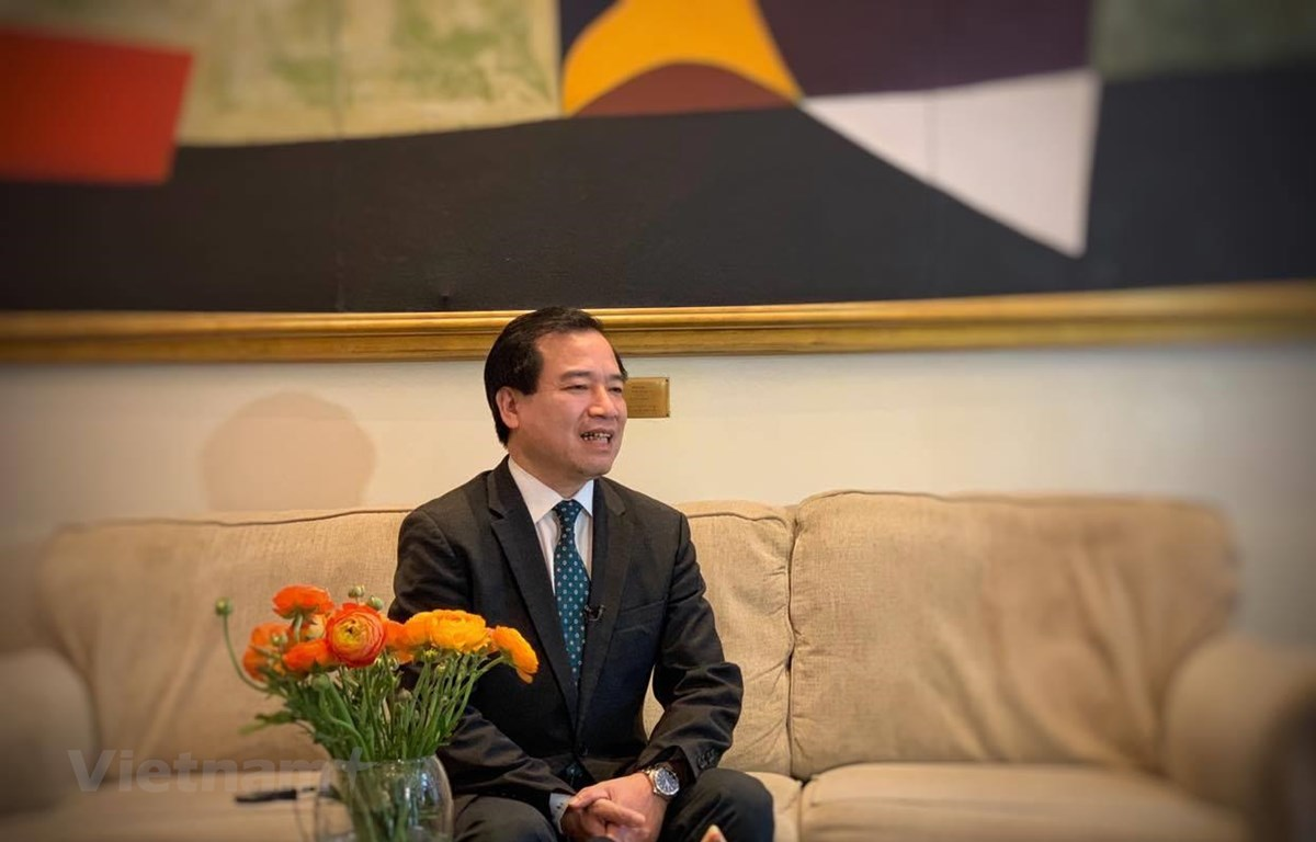 Phó Tổng Cục trưởng Tổng cục Du lịch, ông Hà Văn Siêu. (Ảnh: Xuân Mai/Vietnam+)