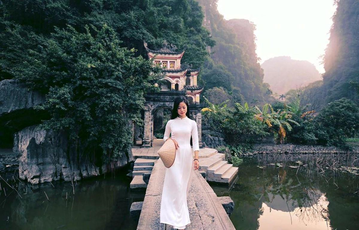 Vẻ đẹp Việt ở Ninh Bình. (Ảnh minh họa: CTV/Vietnam+)