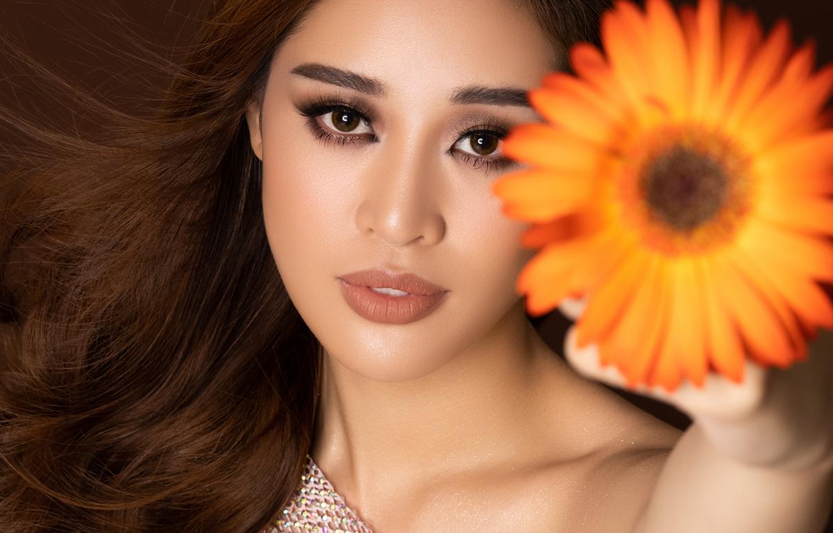 Hoa hậu Khánh Vân đã sẵn sàng cho đấu trường Miss Universe. (Ảnh: Nguyễn Long/Vietnam+)