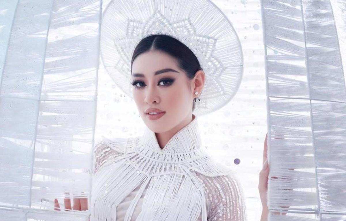 """Hoa hậu Khánh Vân lọt top 20 """"Hoa hậu của các Hoa hậu."""" (Ảnh: CTV/Vietnam+)"""