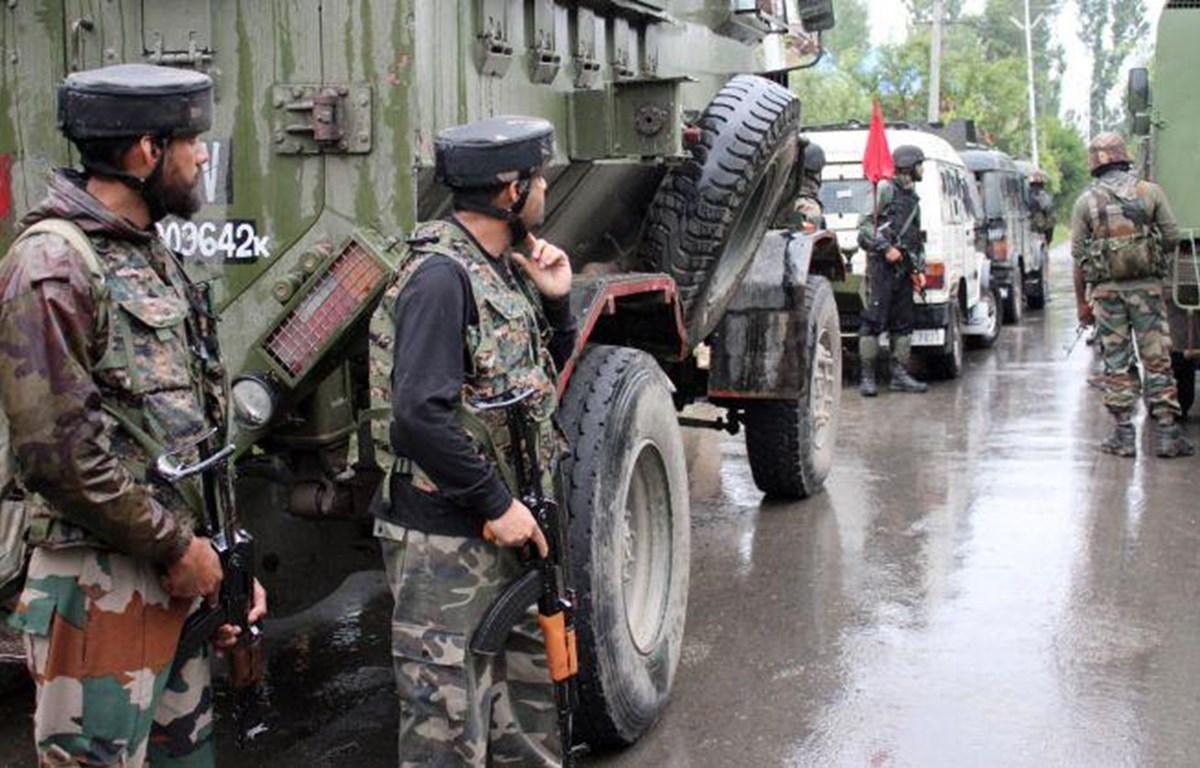 Lực lượng an ninh Ấn Độ.