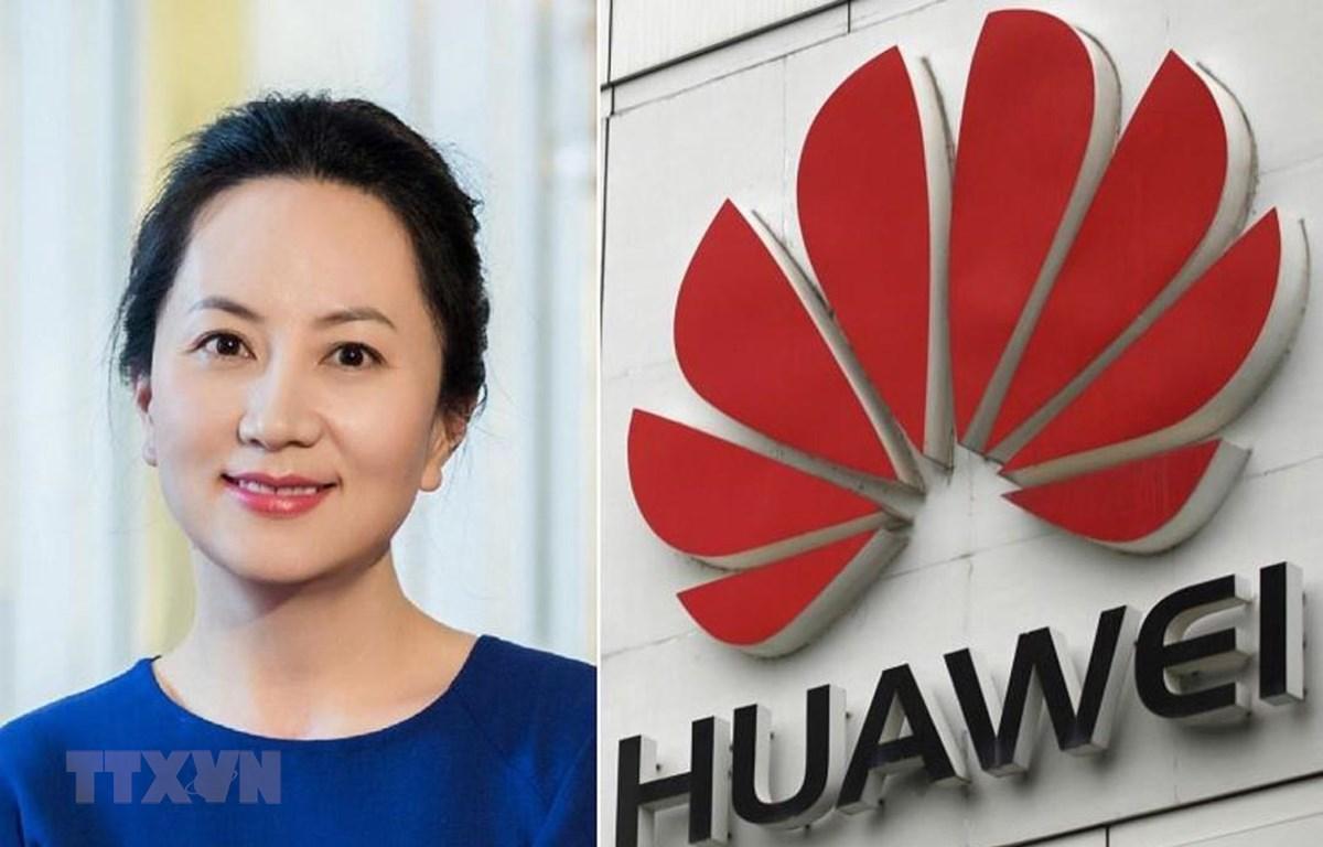 Phó Chủ tịch kiêm Giám đốc tài chính tập đoàn (CFO) của Huawei, bà Mạnh Vãn Chu. (Ảnh: Reuters/TTXVN)