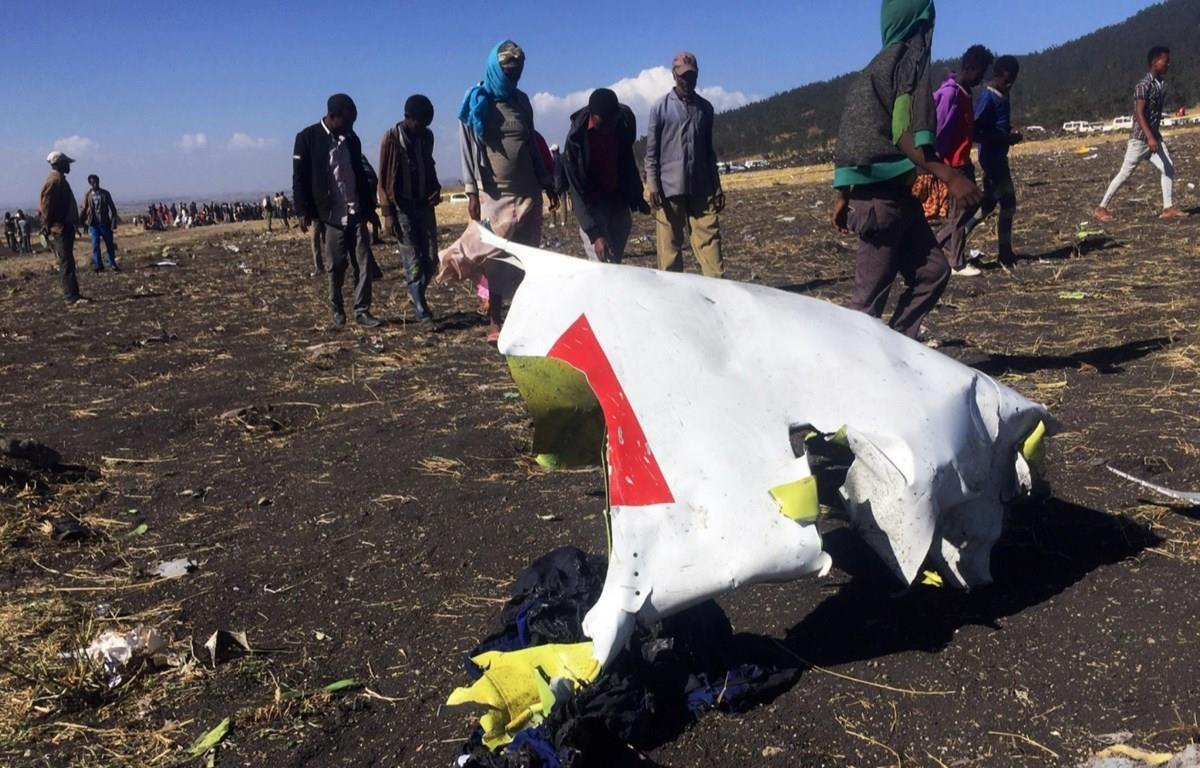 Mảnh vỡ từ máy bay sau vụ tai nạn. (Nguồn: The Daily Beast)